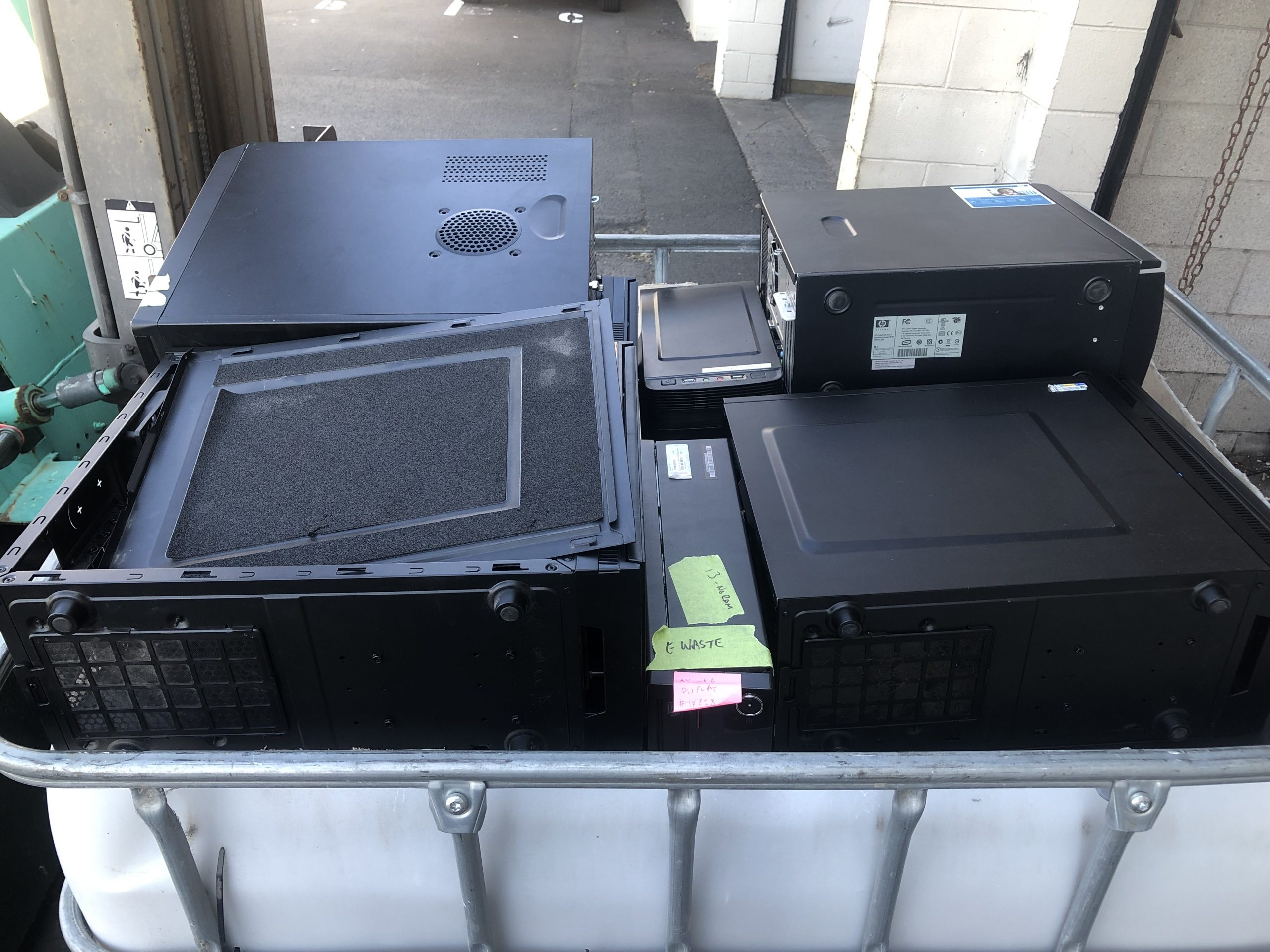 Computer recycling in Auckland